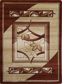 Nowoczesny dywan Adora 5197 brązowy
