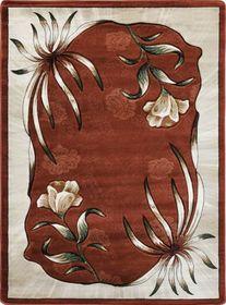 Nowoczesny dywan Adora 7004 brązowy