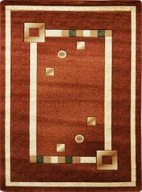 Nowoczesny dywan Adora 5440 brązowy