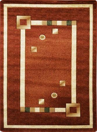 Nowoczesny dywan Adora 5440 brązowy (1)