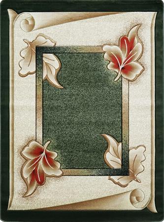 Nowoczesny dywan Adora 7014 zielony (1)