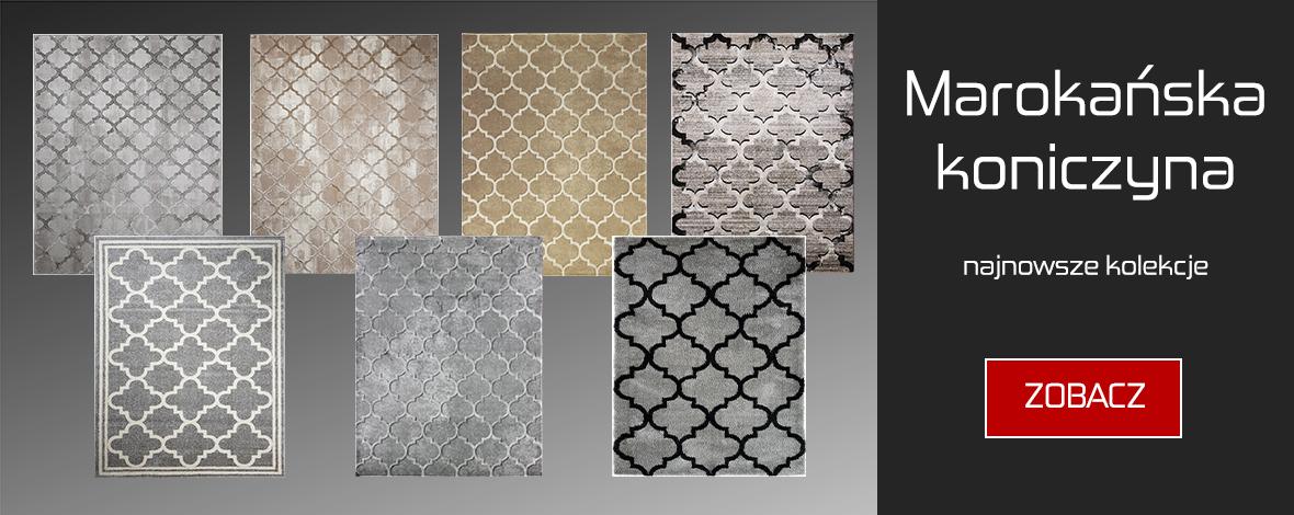 Sprawdź ofertę dywanów z wzorem marokańska koniczyna na Carpets24.pl